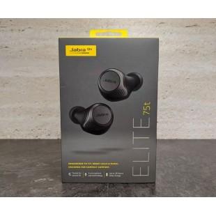Jabra Elite 75T Bluetooth Kulaklık Titanyum Siyah