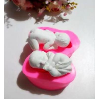 İkili Bebek Model 2 Kalıbı